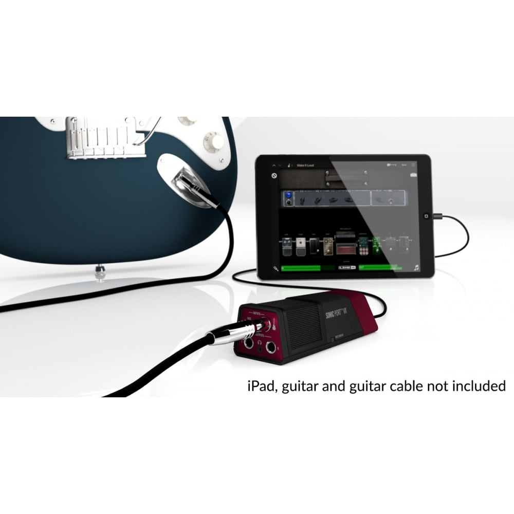 line 6 sonic port vx guitar audio interface for ios mac windows. Black Bedroom Furniture Sets. Home Design Ideas