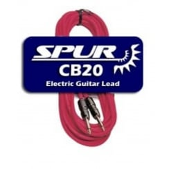 Spur CB20 | 20ft Jack/Jack Electric Guitar Lead