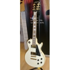 Spur LC300 Electric Guitar | White | Ex Display
