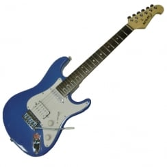 Spur ST Mini Electric Guitar | Short Scale | Blue