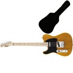Affinity Series Telecaster Left-Handed, Maple Fingerboard, Butterscotch Blonde