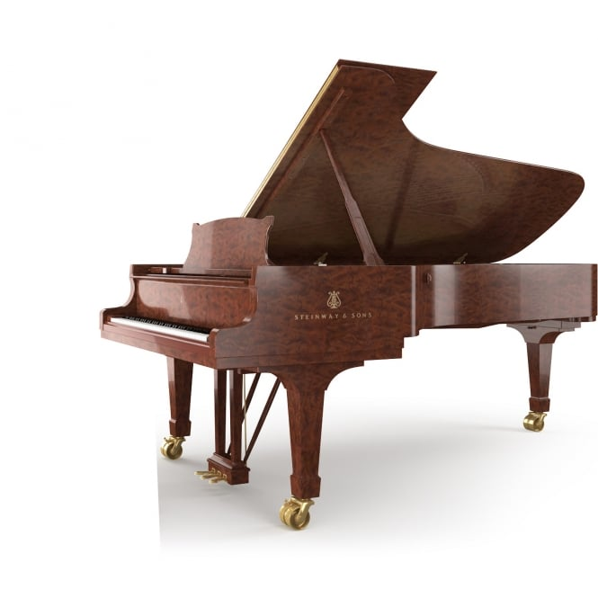 Steinway CROWN JEWEL - MODEL B-KB (211cm) Kewazinga Bubinga