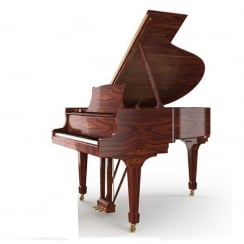 Steinway & Sons Steinway CROWN JEWEL - MODEL O-IR (180cm) Indian Rosewood