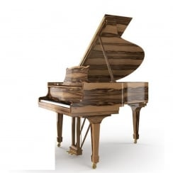 Steinway CROWN JEWEL - MODEL O-AW (180cm) Amber Wood