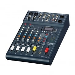 Studiomaster Club XS 6 6 Input Mixer with USB/SD Card Media player
