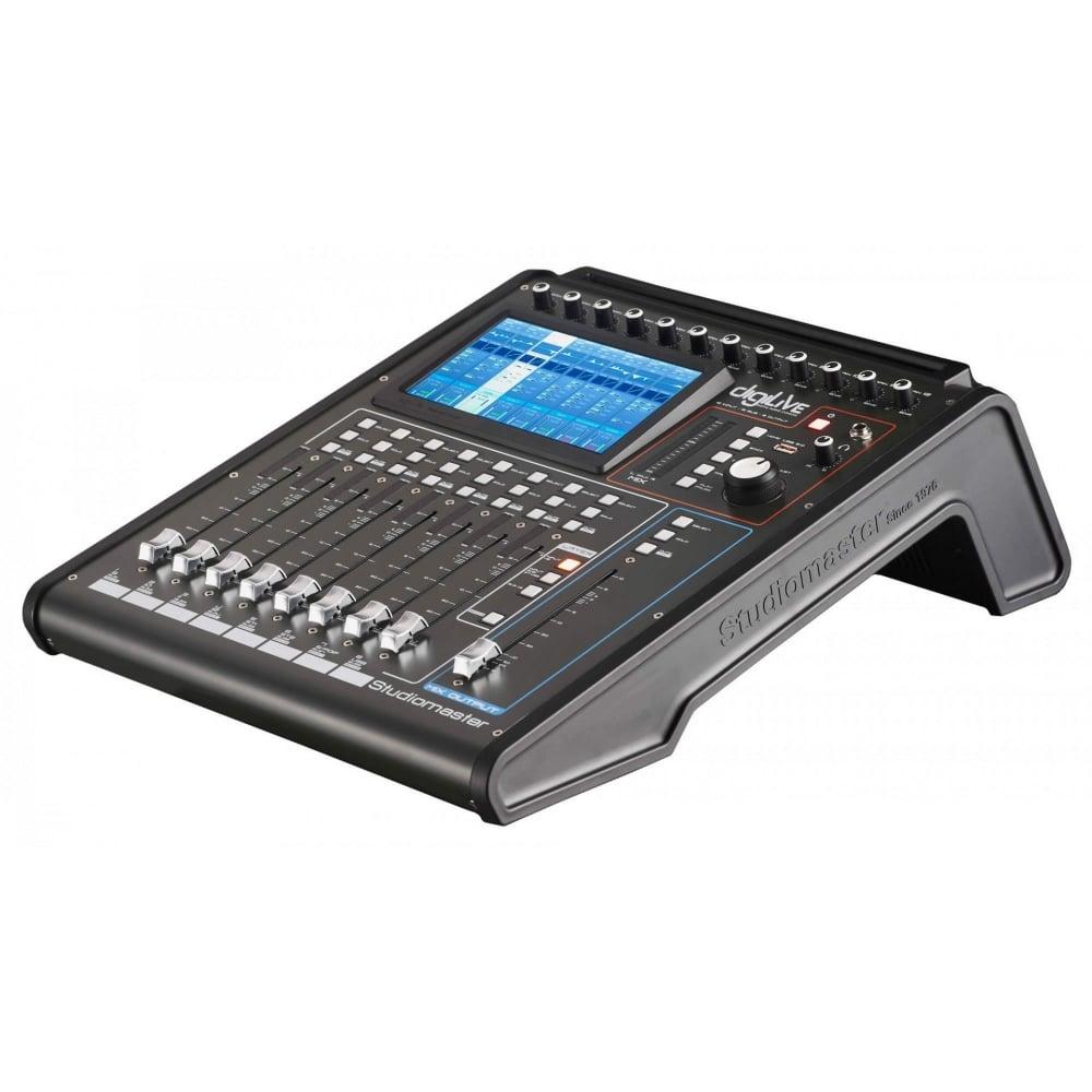 studiomaster digilive 16 compact digital mixer from rimmers music. Black Bedroom Furniture Sets. Home Design Ideas