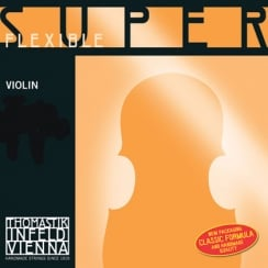 Thomastik Infeld SuperFlexible Violin A. 4/4 Aluminium Wound | 11