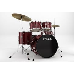 Rhythm Mate (22'' 5pc Kit w/5pc hardware & cymbals) | Red Stream