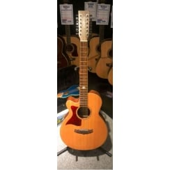 Tanglewood TW145/SS CE 12 String | Left-Handed