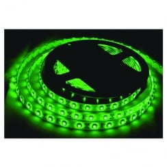 LR Technology Tape Light Kit 12V 300 LED 5M With In-Line Driver IP65 (Colour Green)