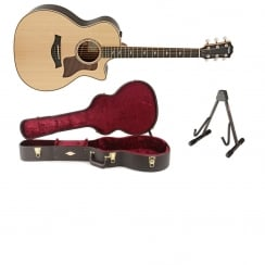 Taylor 814CE Grand Auditorium Electro Acoustic Guitar Natural