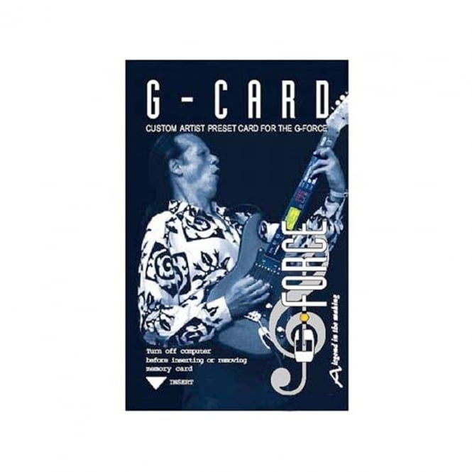 TC Electronic G-Card | Preset Card for G-Force