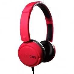 TGI Audiocake Headphones Red / Black | TGAC10RB