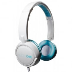 TGI Audiocake Headphones White / Blue | TGAC10WB