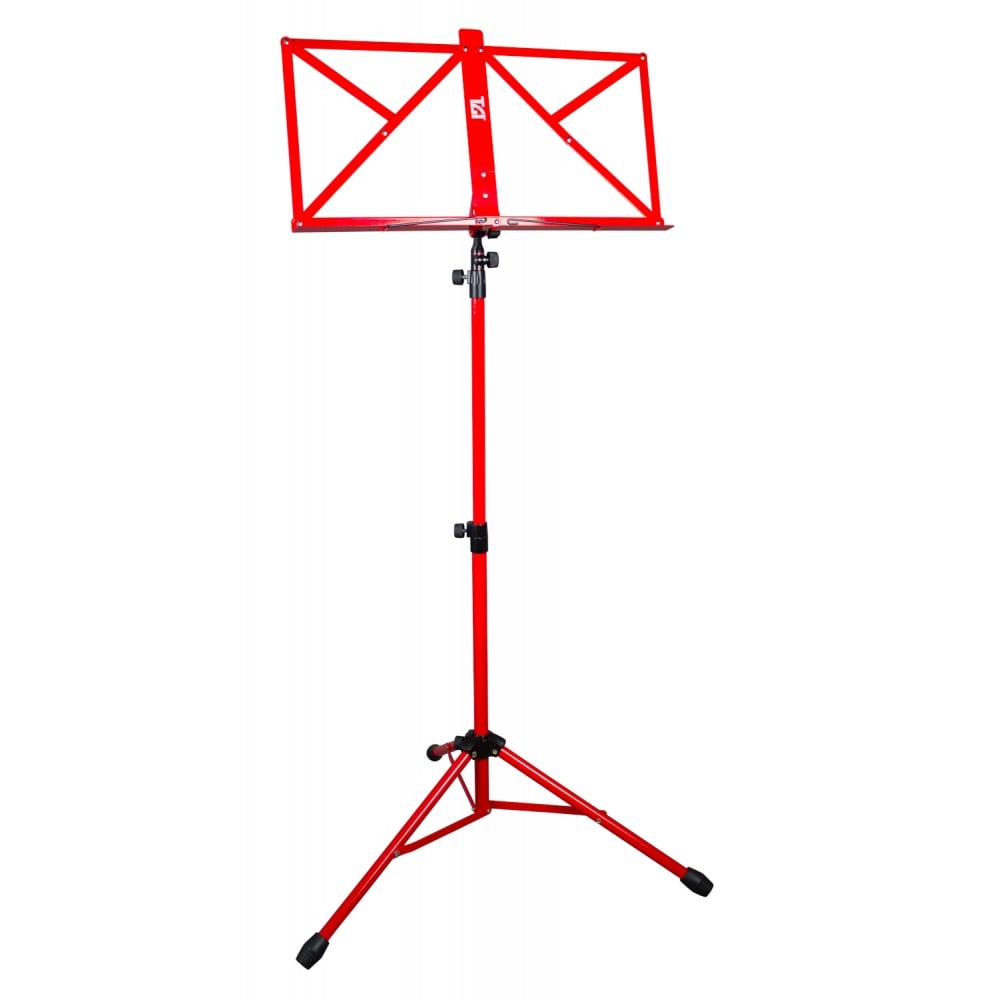 Tgi Music Stand In Bag Red Ms20r With Uk Mainland Delivery