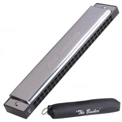THE BLUES TB24C JHS THE BUSKER HARMONICA