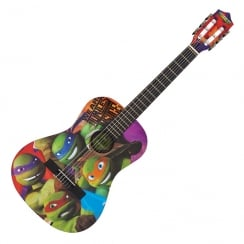 TMNT TEENAGE MUTANT NINJA TURTLES 3/4 SIZE GUITAR OUTFIT