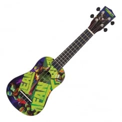 TMNT TEENAGE MUTANT NINJA TURTLES UKULELE OUTFIT - MEAN GREEN
