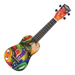 TMNT TEENAGE MUTANT NINJA TURTLES UKULELE OUTFIT - TURTLES