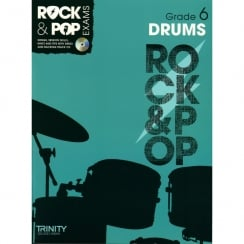 Trinity College London Trinity Rock & Pop Exams Drums Grade 6 + CD