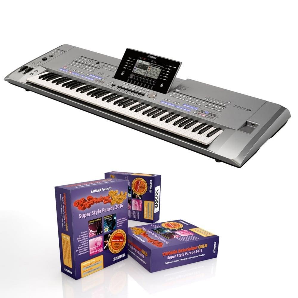 yamaha tyros 5 keyboard 76 key from rocking rooster. Black Bedroom Furniture Sets. Home Design Ideas