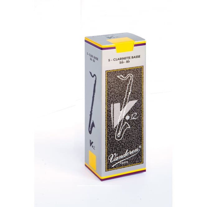 Vandoren Reeds Bass Clarinet 3.5 V12 (5 Box) | CR6235