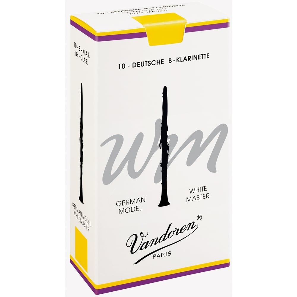 Vandoren Reeds Clarinet Bb 2 White Master (10 Box) | CR162