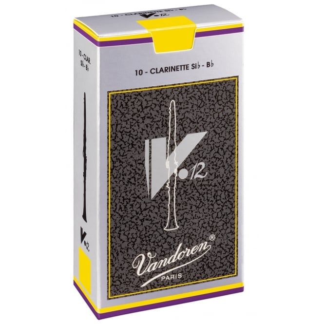Vandoren Reeds Clarinet Bb 3.5 V12 (10 Box) | CR1935