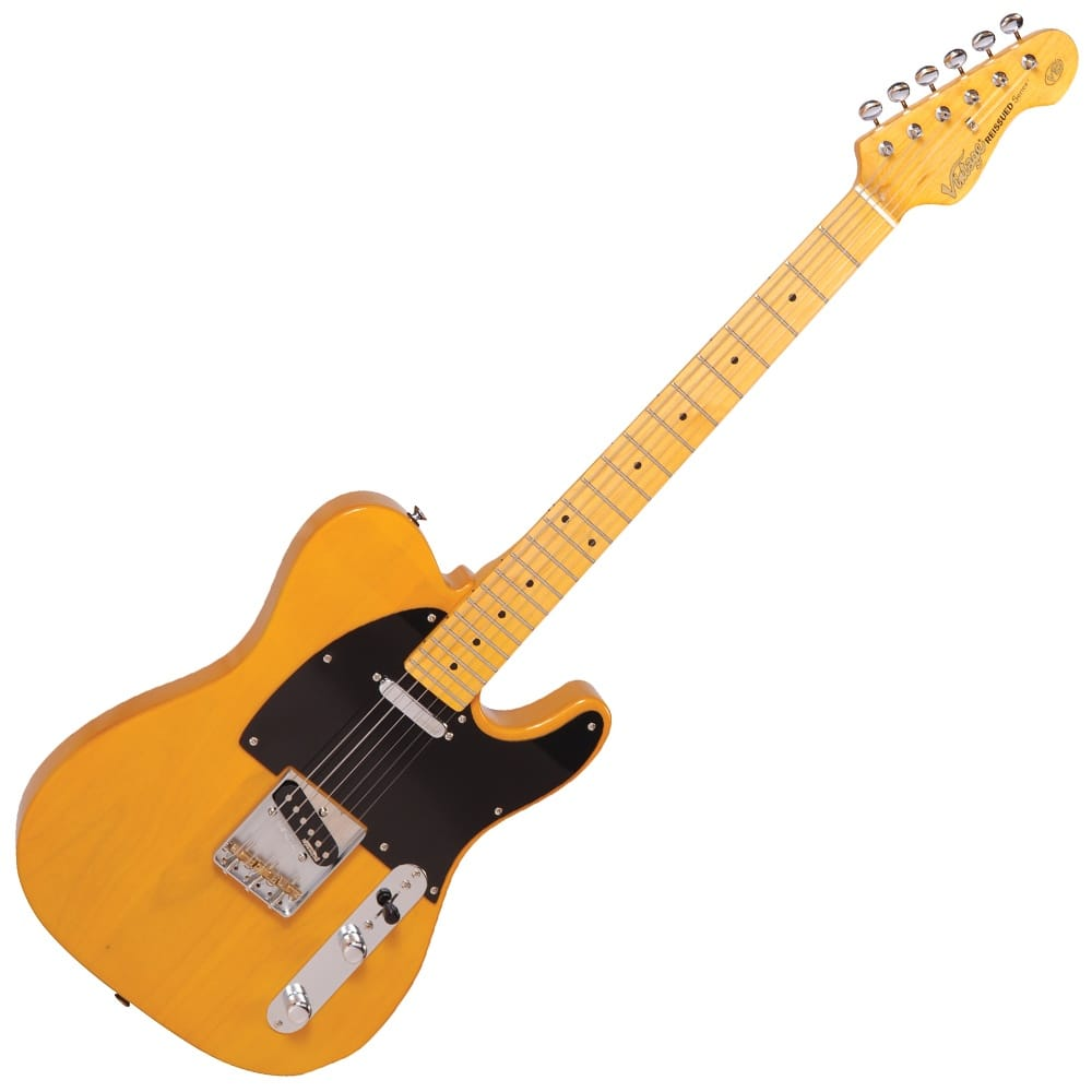 vintage v52 electric guitar butterscotch from rimmers music. Black Bedroom Furniture Sets. Home Design Ideas