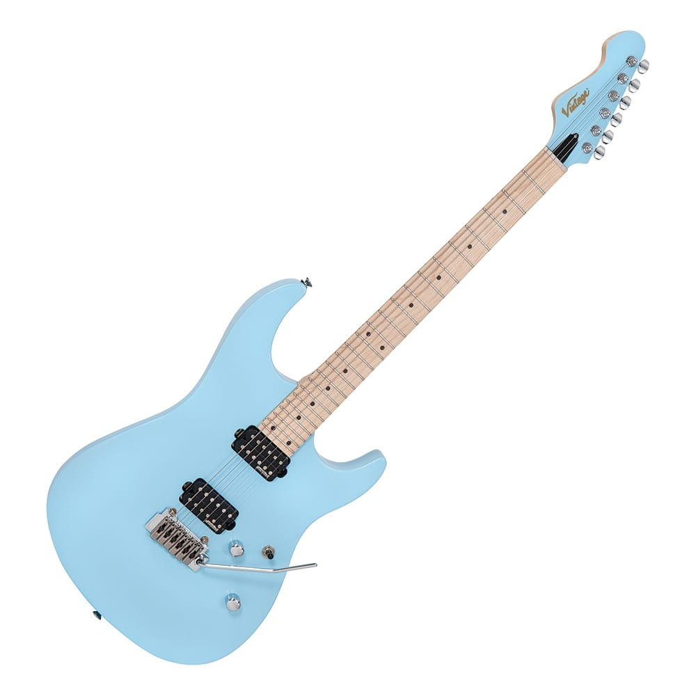 Electric Blue Guitar : vintage v6 24 electric guitar laguna blue from rimmers music ~ Russianpoet.info Haus und Dekorationen
