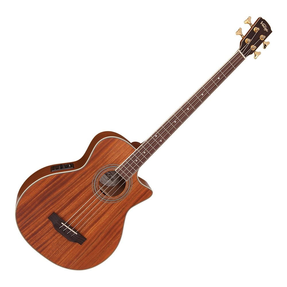 VINTAGE 4 STRING ACOUSTIC BASS- ALL MAHOGANY from Rimmers Music