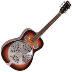 Vintage Vra400Vsb Wood Body Resonator Guitar