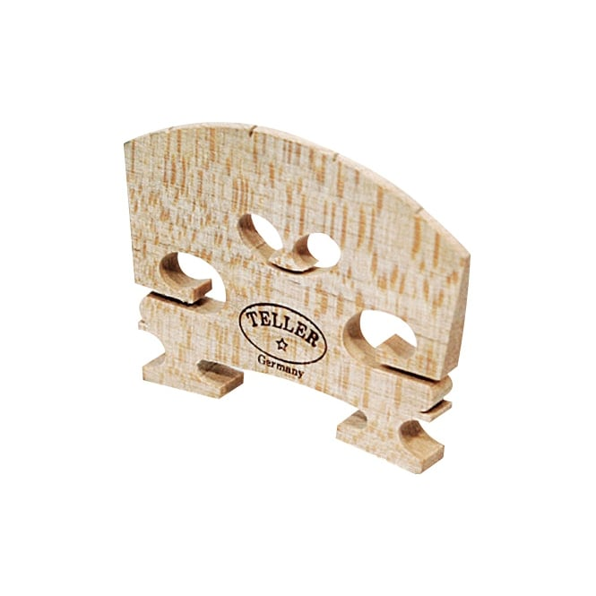 Violin Bridge - Aubert Model. Shaped and Fitted. 1/2 | 846C