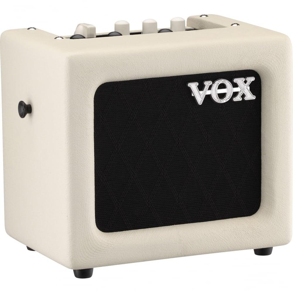 vox mini 3 ivory guitar amplifier with uk mainland delivery. Black Bedroom Furniture Sets. Home Design Ideas