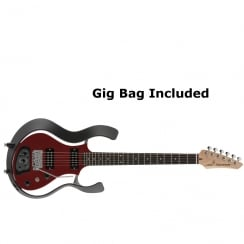 VOX Starstream Type 1 Modelling Electric Guitar | Black Frame with Semi-Gloss Red body