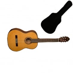Washburn C40 Classical Acoustic Guitar Natural | Includes Gigbag