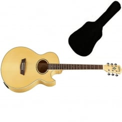 Washburn Festival EA20 Electro-Acoustic Guitar | Includes Gigbag