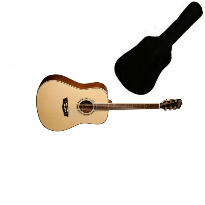 washburn wcd18 comfort series acoustic guitar from rimmers music. Black Bedroom Furniture Sets. Home Design Ideas