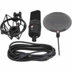 sE Electronics X1 Large Diaphram Condenser Microphone | Vocal Pack