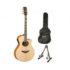 Yamaha APX1000 Electro Acoustic Guitar Package | Natural