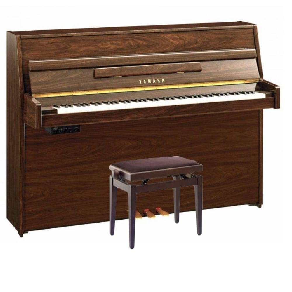 yamaha b1 sg2 silent piano polished walnut rimmers music. Black Bedroom Furniture Sets. Home Design Ideas