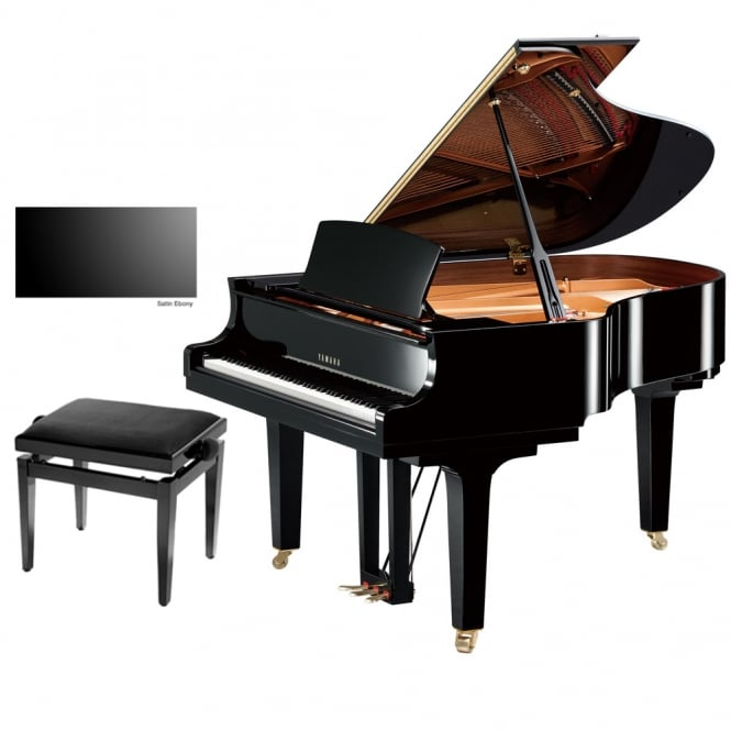 Yamaha C2X Grand Piano | Satin Ebony