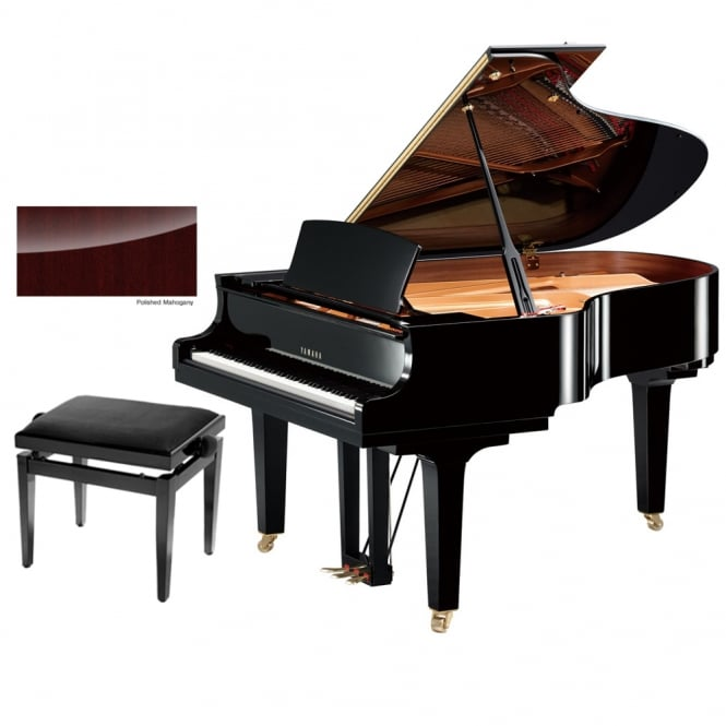 Yamaha C3X Grand Piano | Polished Mahogany