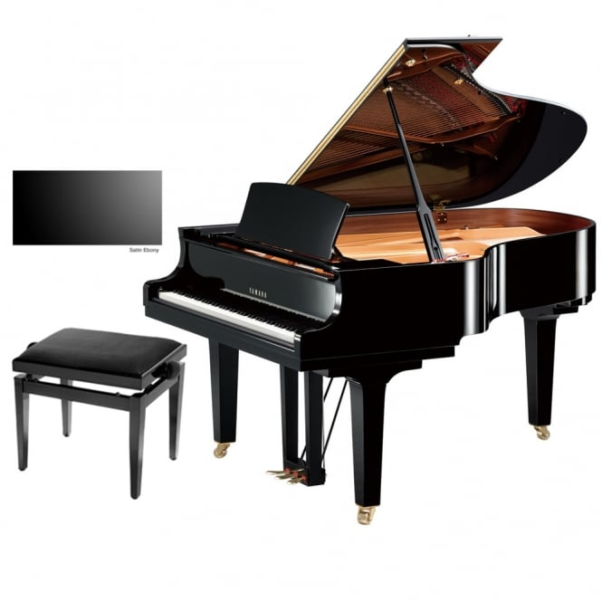 Yamaha C3X Grand Piano | Satin Ebony
