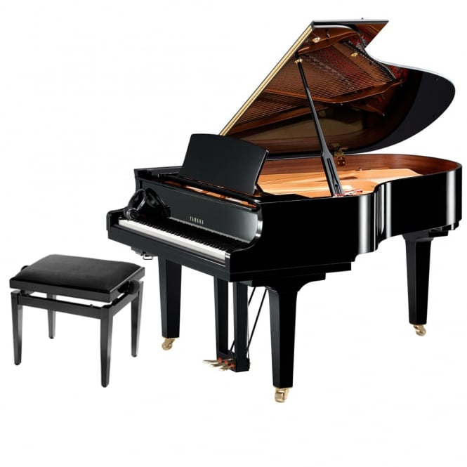Yamaha C3X SH Silent Grand Piano | Polished Ebony