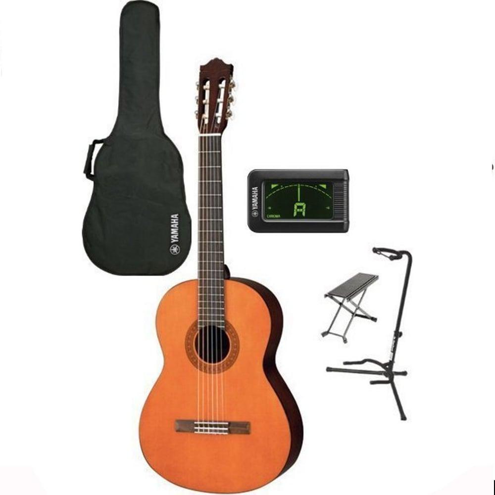 yamaha c40. yamaha c40 performance pack classical guitar set c