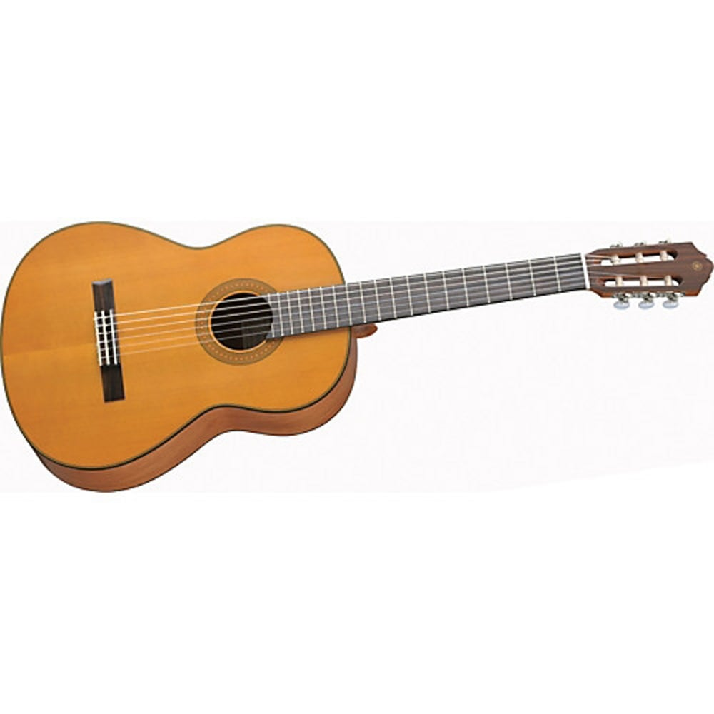 Yamaha cg122mc natural classical guitar with uk mainland for Yamaha classic guitar