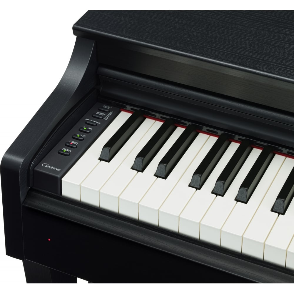 yamaha clp635b digital piano black package from rimmers. Black Bedroom Furniture Sets. Home Design Ideas