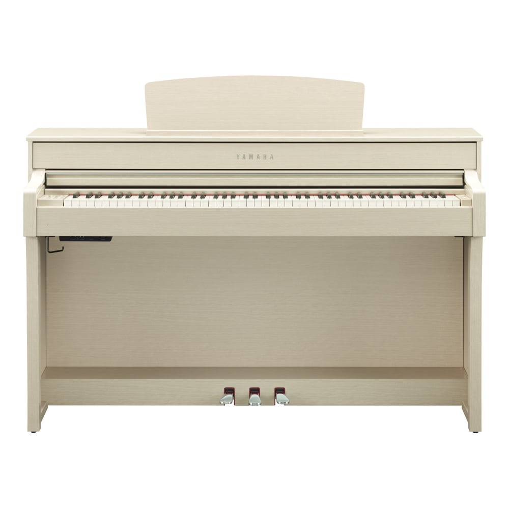 Yamaha clp 645 clavinova digital piano white ash package for Yamaha digital piano philippines