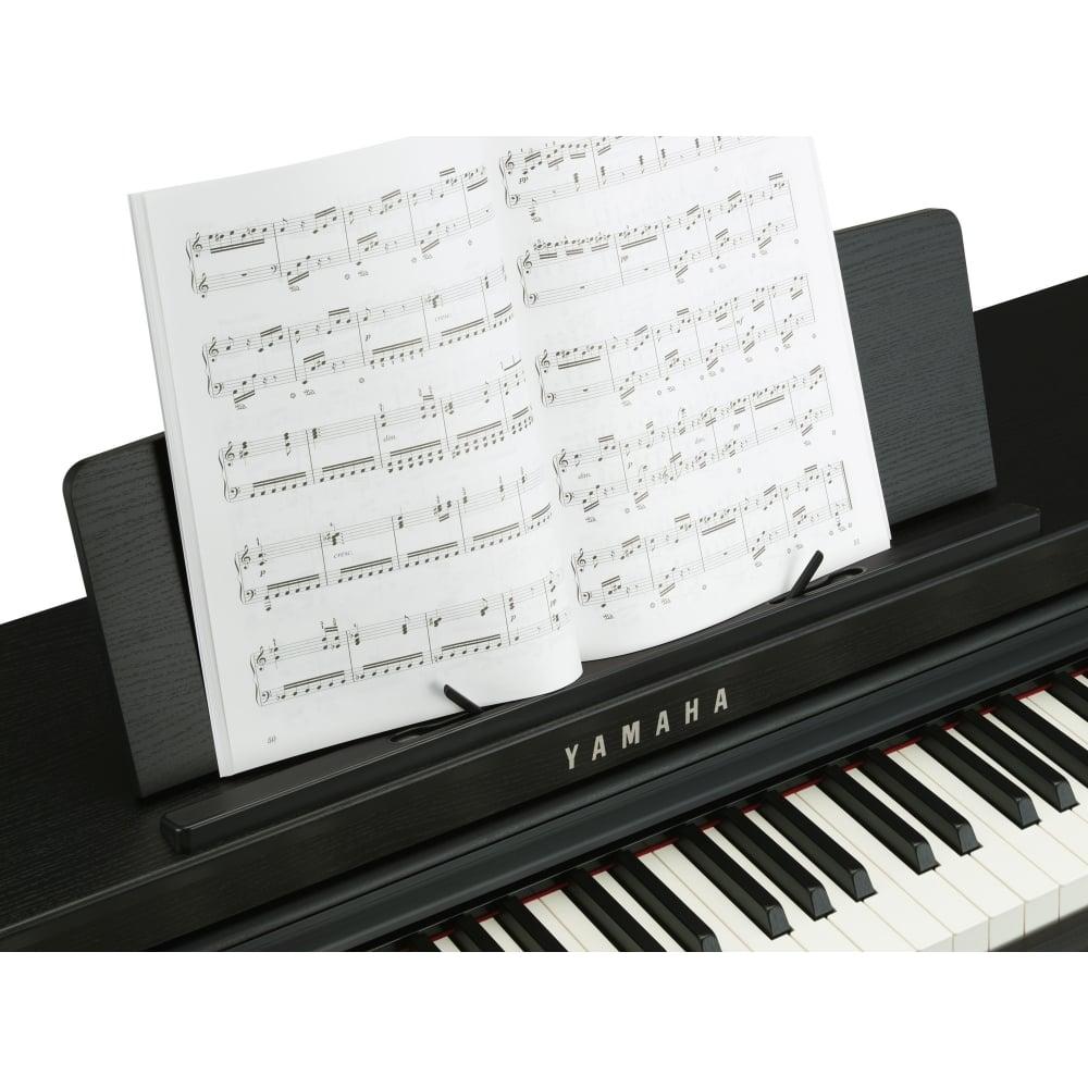 Yamaha clp 675 clavinova digital piano black walnut for Yamaha clp 675